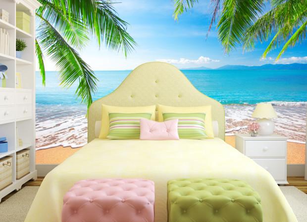 пальмы и пляж
