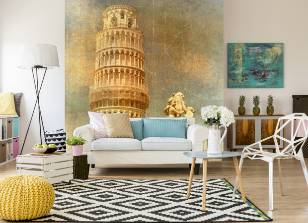 Пизанская башня арт