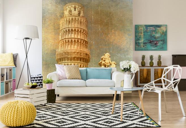 Фотообои Пизанская башня арт