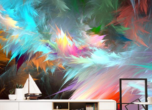 Краски на стене
