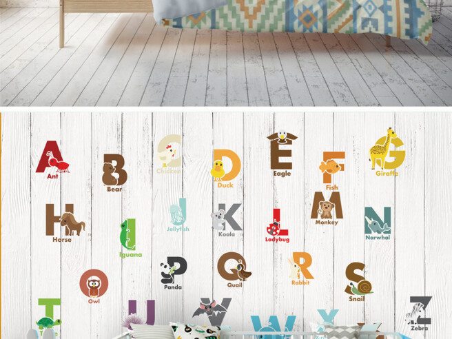 Английский алфавит и паровозик