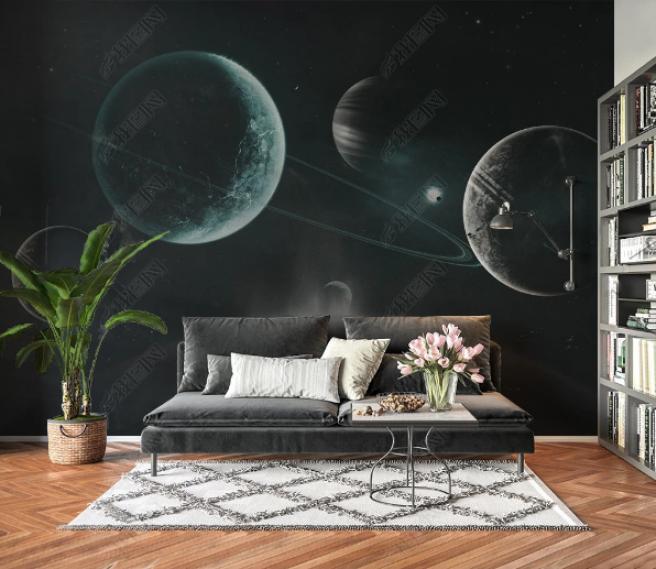 Фотообои темный космос