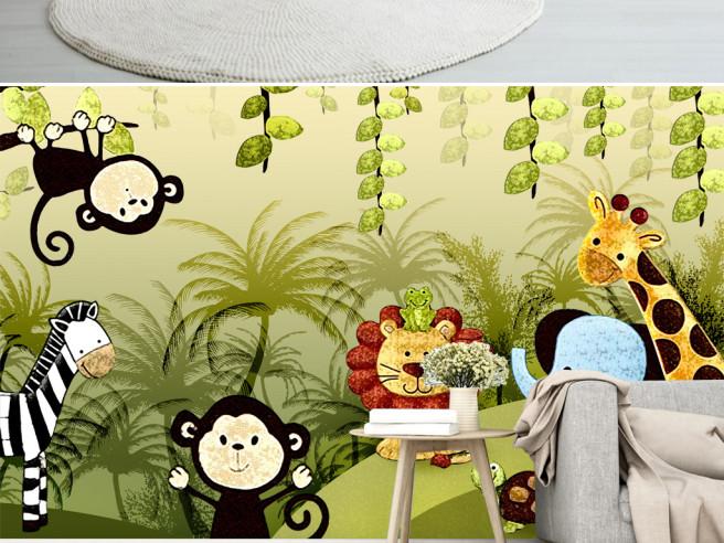 Животные из джунглей