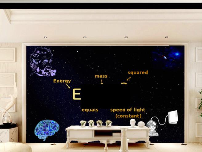 Фотообои Космическая теория относительности