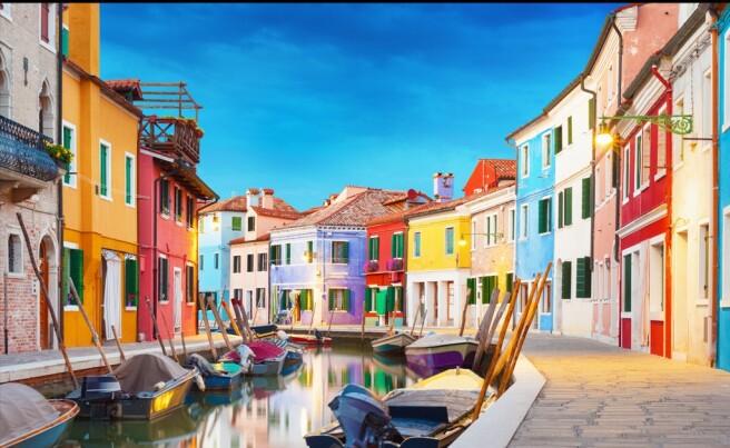 Фотообои Улица Венеции