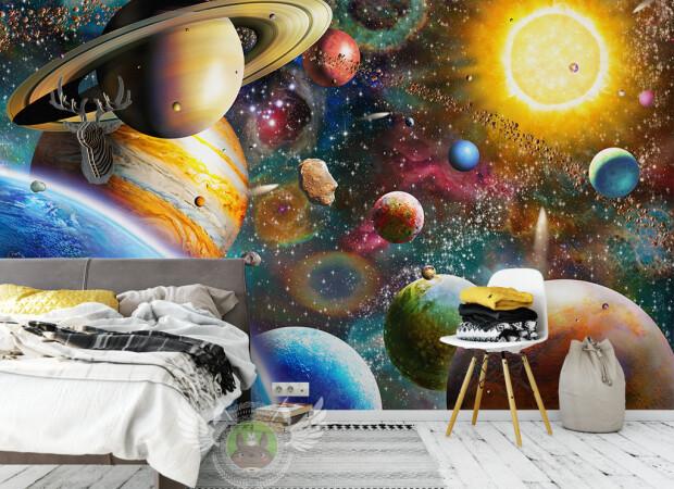 Насыщенный космос