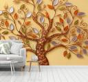 дерево фреска в цвете