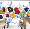 Фотообои фрукт в воде