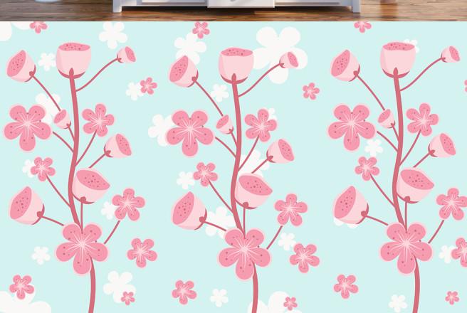 Фотообои Три розовых тветка