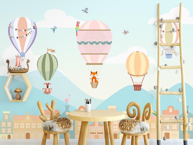 Фотообои Парад воздушных шаров
