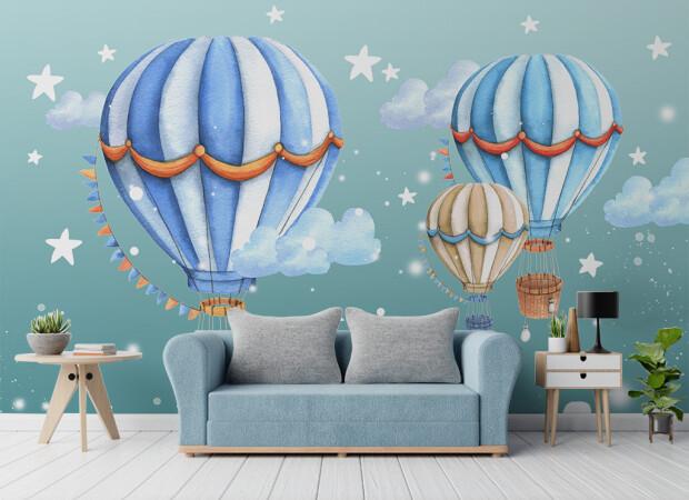 Воздушные шары среди звезд