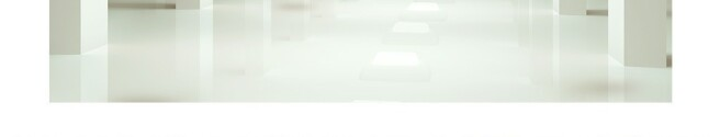Фотообои Шары в белом тунеле