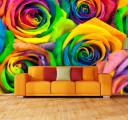 Фотообои Радужные розы