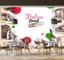 Фотообои Итальянская еда