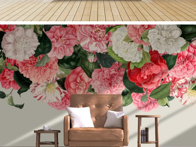 Фотообои Нежный розовый букет