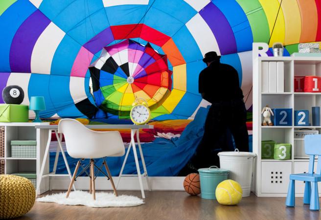 Фотообои Спиральная радуга