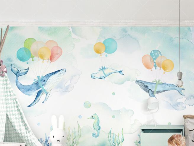 Киты на воздушных шарах