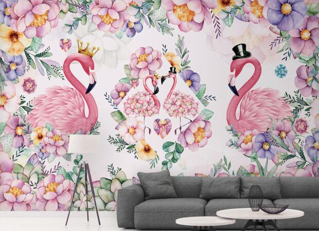 Королевские фламинго