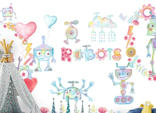 Весенние роботы