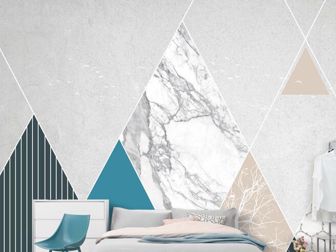 Пестрые треугольники