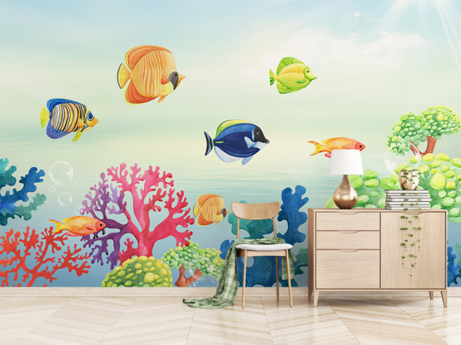 Жизнь в коралловом рифе