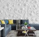 Фотообои белая фреска