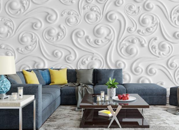 белая фреска