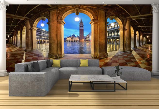Фотообои итальянские колонны