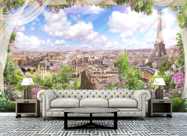 городская панорама