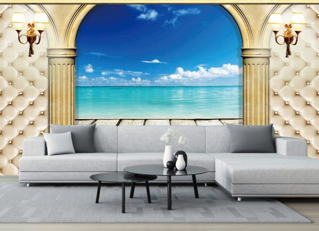 колонны и океан