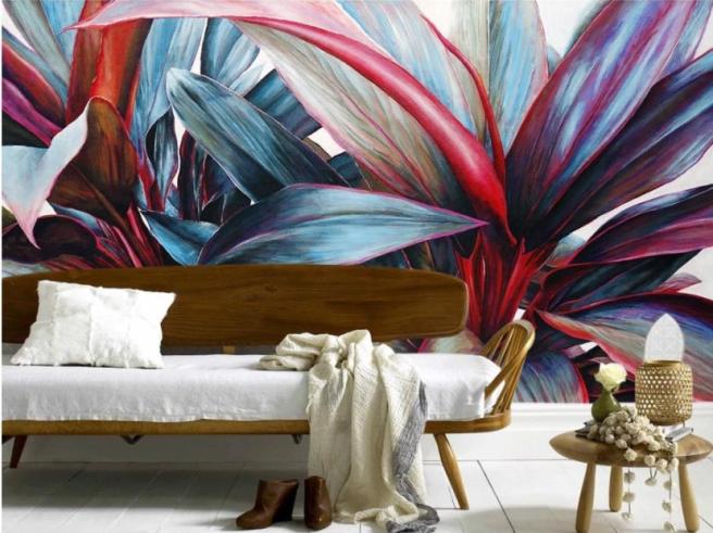Фотообои цветок в ярких красках