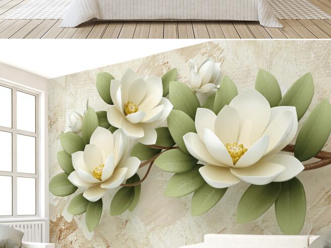 Фотообои Цветы на ветке
