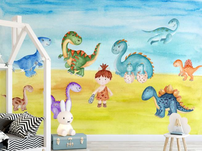 Маленькие динозаврики