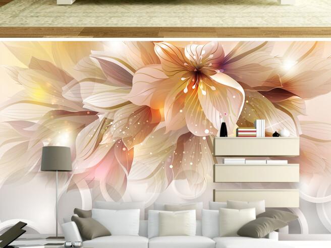 Фотообои Цветок с большими лепестками