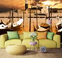 Фотообои Лодки у берега