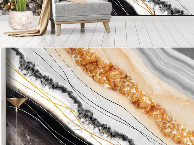 Фотообои Гранитные текстуры с драгоценными камнями