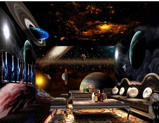 Вселенная в комнате