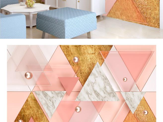 Фотообои Треугольная плитка