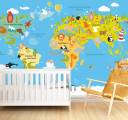 карта мира для ребенка