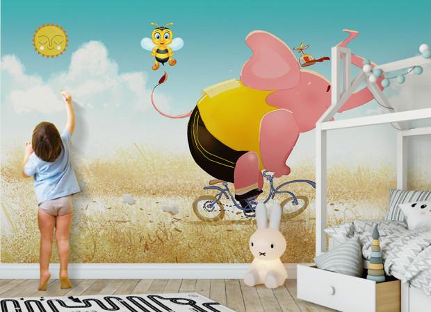 Розовый слон и пчела