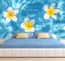 Фотообои цветы на воде