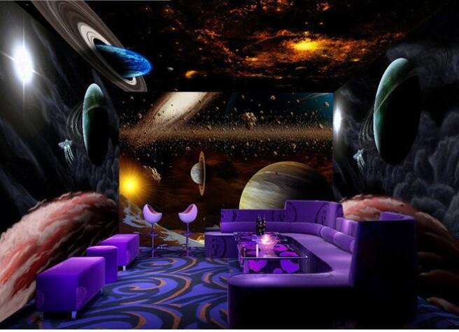 Фотообои Вселенная в комнате