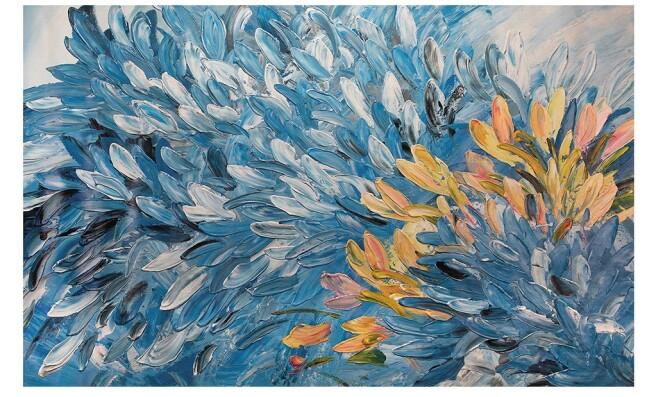 Фотообои Пачка перьев