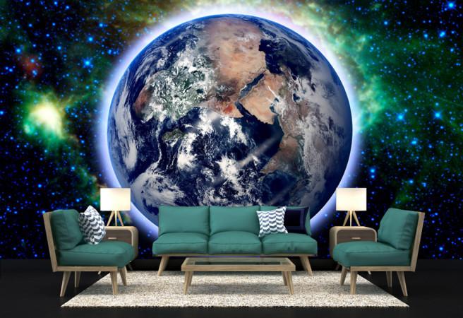 планета из космоса