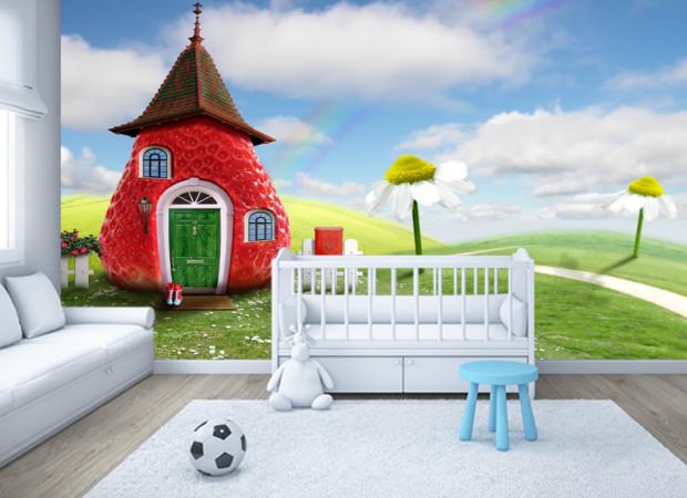 Клубничный домик