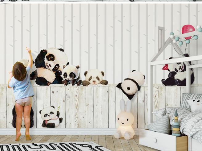 Фотообои Маленькие панды