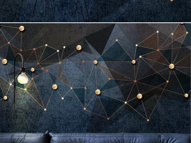 Фотообои Золотая структура
