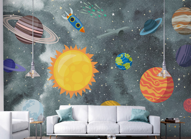 Ракета и планеты