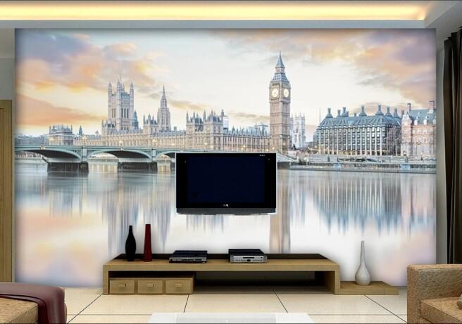 Фотообои лондон в отражении
