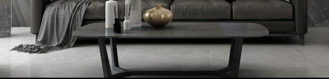 Серый наклонный гранит